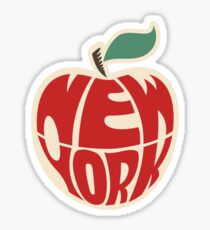 New York The Big Apple USA America Sticker