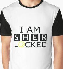 Hyjacked 'I AM SHERLOCKED' Graphic T-Shirt