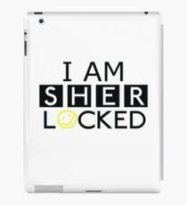 Hyjacked 'I AM SHERLOCKED' iPad Case/Skin