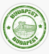 Budapest, Hungary Travel Destination Sticker
