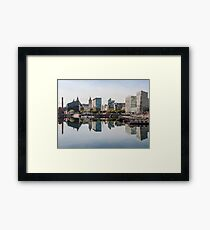 Salthouse Dock Liverpool Framed Print