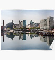 Salthouse Dock Liverpool Poster