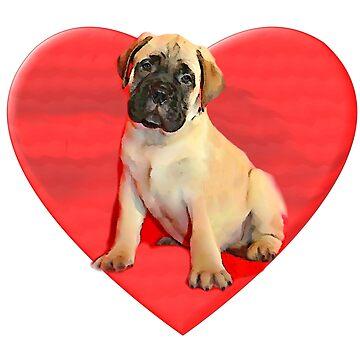 Love Bullmastiff Puppy by ritmoboxers