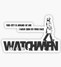 Watchmen - Rorscach Sticker