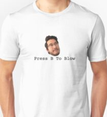 Press B To Blow T-Shirt