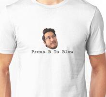Press B To Blow Unisex T-Shirt