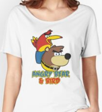 Angry Bear & Bird Women's Relaxed Fit T-Shirt