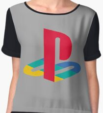 retro game console Chiffon Top