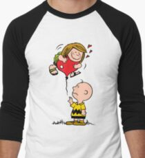 Patty and Charlie Men's Baseball ¾ T-Shirt