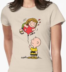 Patty and Charlie Womens Fitted T-Shirt