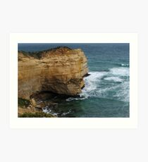 Port Campbell National Park - Cliff Art Print
