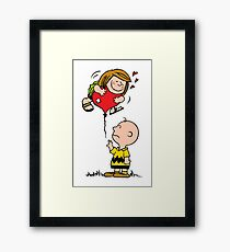 Patty and Charlie Framed Print