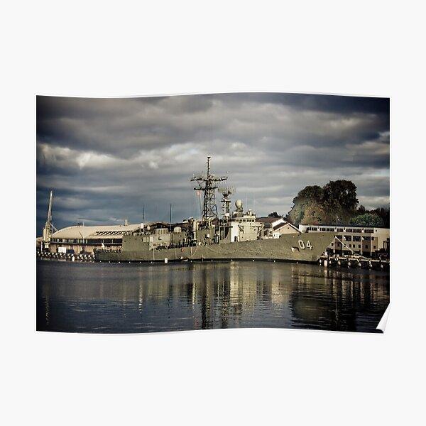 HMAS Darwin Poster