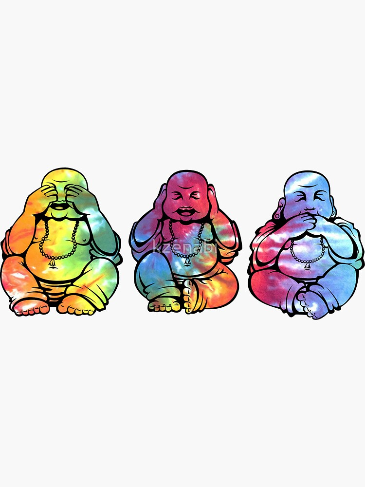 Buddhas: See no, Hear no, Speak no evil 2 by kzenabi