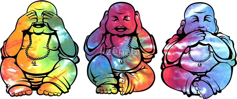 Buddhas see no hear no speak no evil 2 by catherine isla