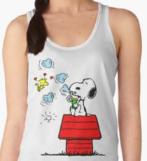 Snoopy and Woodstock Women's Tank Top