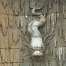 Stone Fish, Fountain Detail, Biltmore. by Billlee
