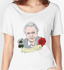 David Attenborough - AttenBae in Colour Women's Relaxed Fit T-Shirt