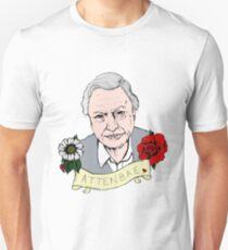 David Attenborough - AttenBae in Colour T-Shirt