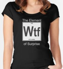 Wtf Element Surprise Women's Fitted Scoop T-Shirt