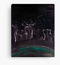 WDVH - 0020 - The Smoke Canvas Print
