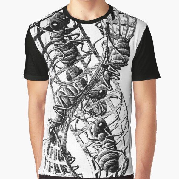 Escher Ants Graphic T-Shirt