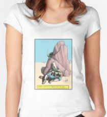 Gizfritz looks on Women's Fitted Scoop T-Shirt