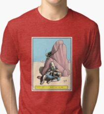 Gizfritz looks on Tri-blend T-Shirt