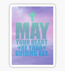 May Your Heart Be Your Guiding Key Sticker