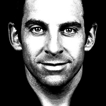 Sam Harris (Black & White) by ApostateAwake