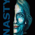 Nasty - Hillary Clinton by Konni Jensen