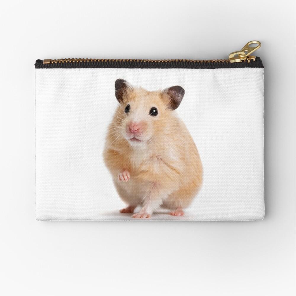 Cute Hamster Rodent  Zipper Pouch