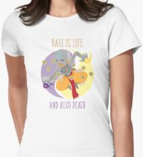 We Ball in Harmony Womens Fitted T-Shirt