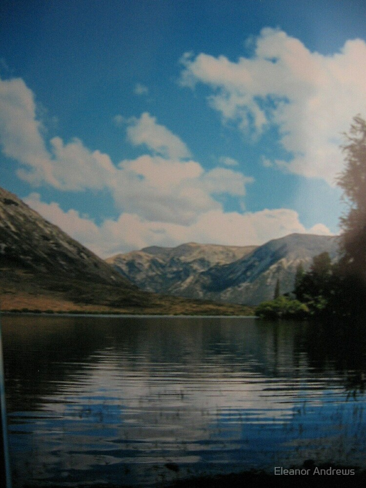 The Lake (New Zealand) by Eleanor Andrews