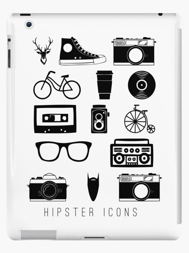 Hipster icons by SouthPrints