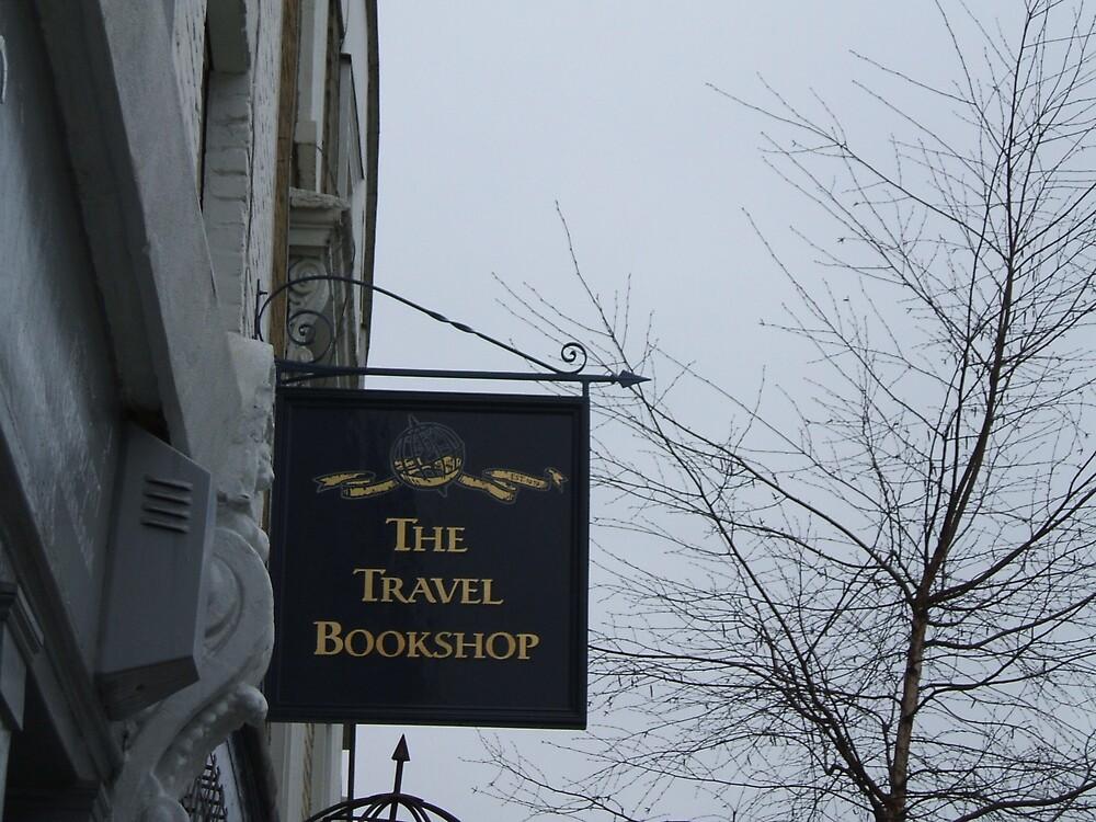 Travel Bookshop sign by bethross