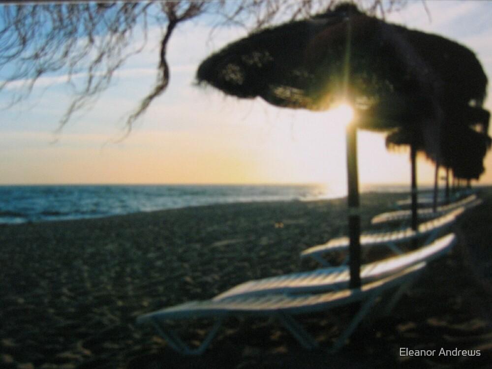 The Beach at Quinta de Lago by Eleanor Andrews