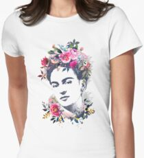 Viva la Frida Womens Fitted T-Shirt