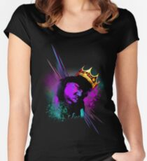 Neon King... Women's Fitted Scoop T-Shirt