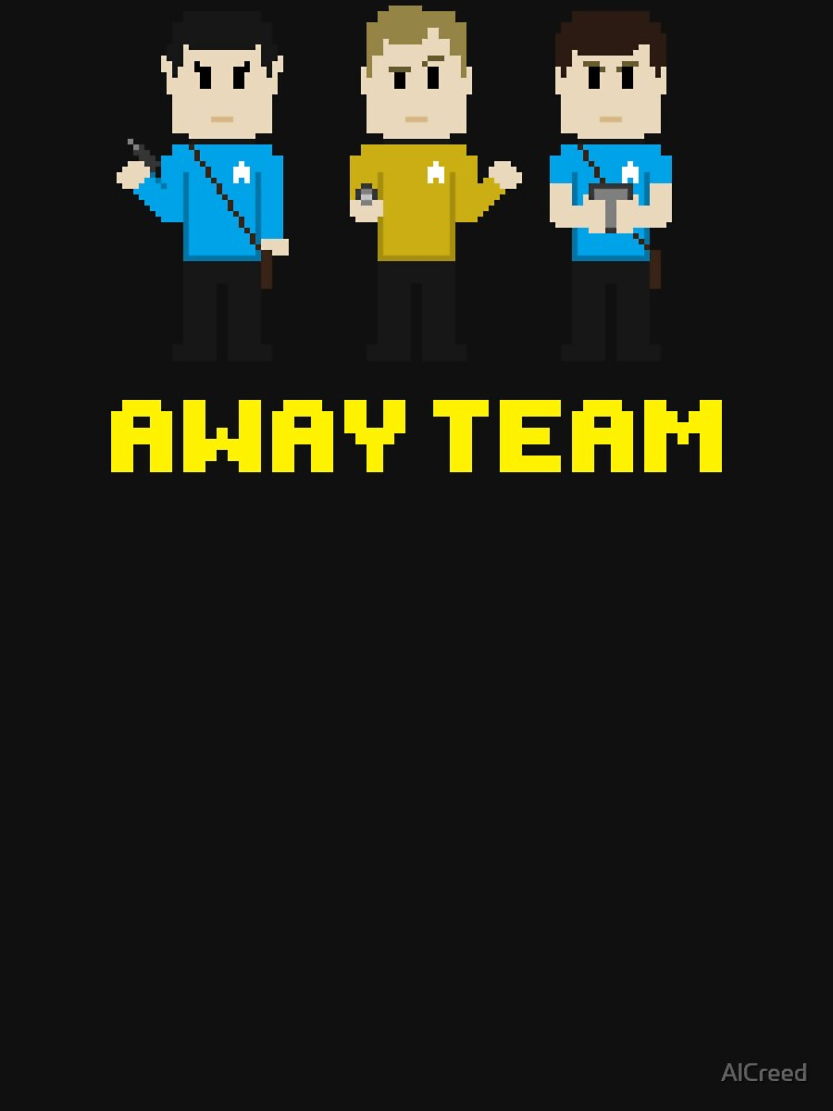 8-Bit Away Team by AlCreed