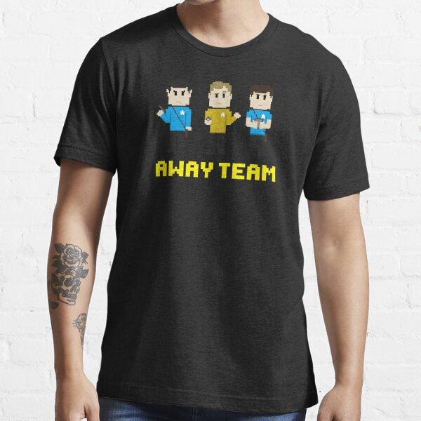 8-Bit Away Team Essential T-Shirt