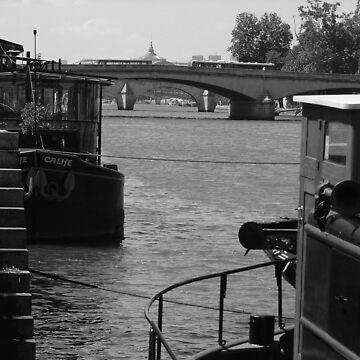 Under the Pont des Arts by APhillips