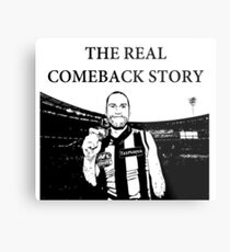 Jarryd Roughead - The Real Comeback Story Metal Print
