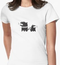 Two Dogs Women's Fitted T-Shirt