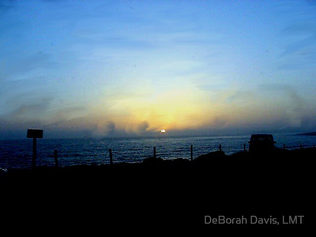 California Sunset by DeBorah Davis, LMT