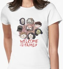 Welcome to the Family Womens Fitted T-Shirt