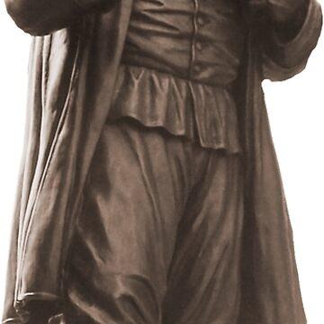 Estatua de Roger Williams de cjackvony