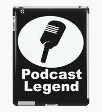 Podcast legend radio host iPad Case/Skin