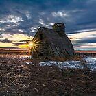 Grain Shed Sunrise by Patrick Kavanagh