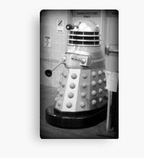 Old Fashioned Dalek Canvas Print